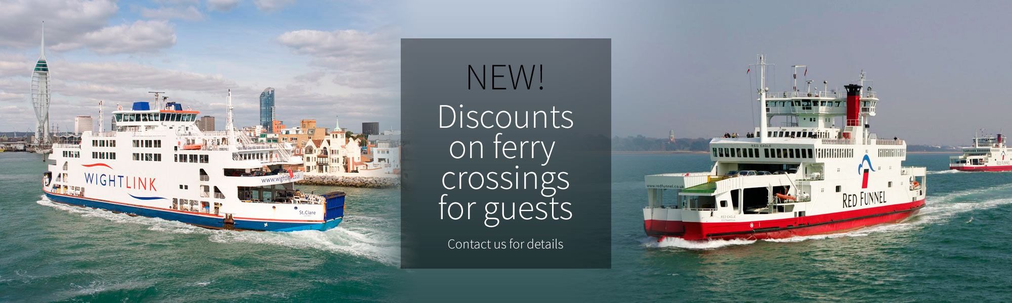 discount ferry fares