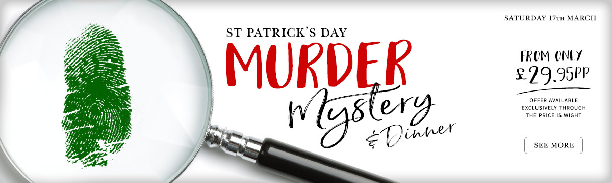 St Patrick's Day Murder Mystery offer slider