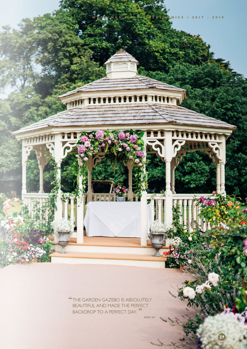 Weddings & Civil Ceremonies brochure - Albert Cottage Hotel