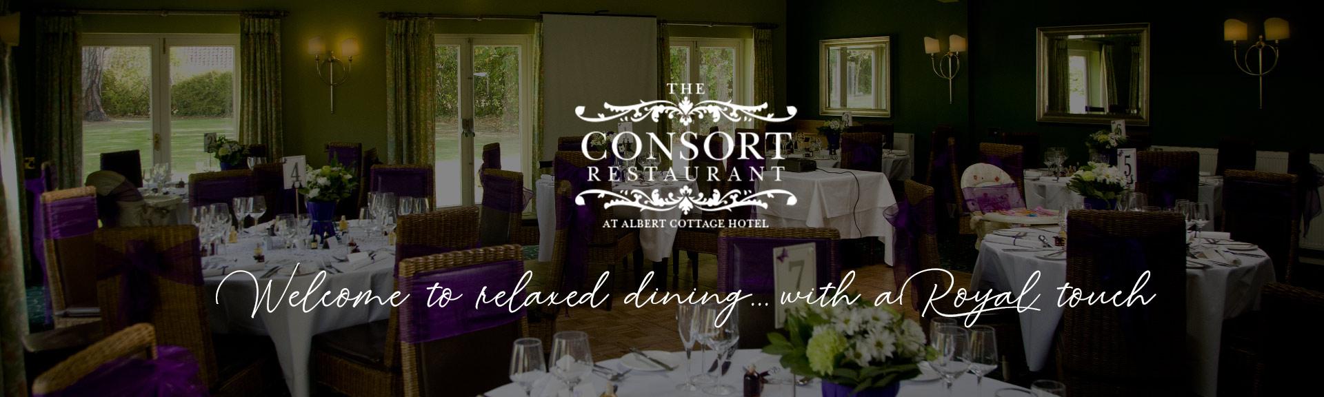 Consort Restaurant & Bar Banner
