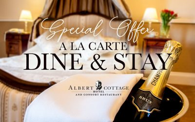 A La Carte Dine and Stay Package for Two just £119 – normally up to £199