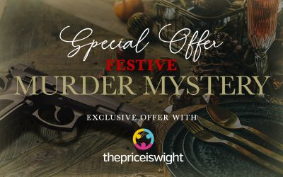 Festive Murder Mystery with Dinner plus Overnight option – from just £29.99