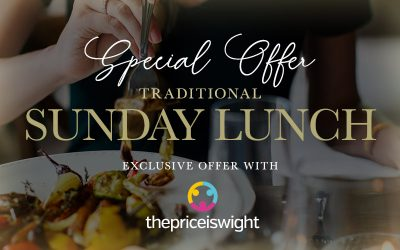 Delicious One-Course Sunday Roast for Adults or Children – from £7.45 normally up to £14.95