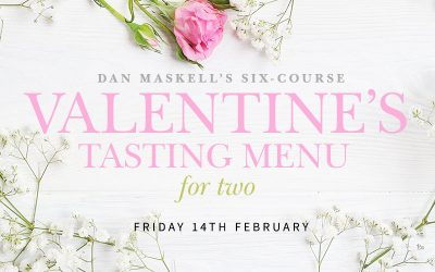 Valentine's Six-Course Tasting Menu for Two: just £80 per Couple, plus Dine and Stay Option