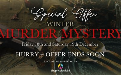 Murder Mystery Experience with Three-Course Dining and Overnight Option from just £159.80 for 2